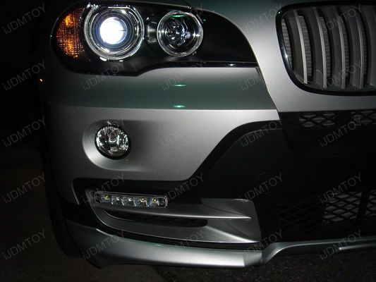 BMW - X5 - LED - Daytime - Running - Lights 05